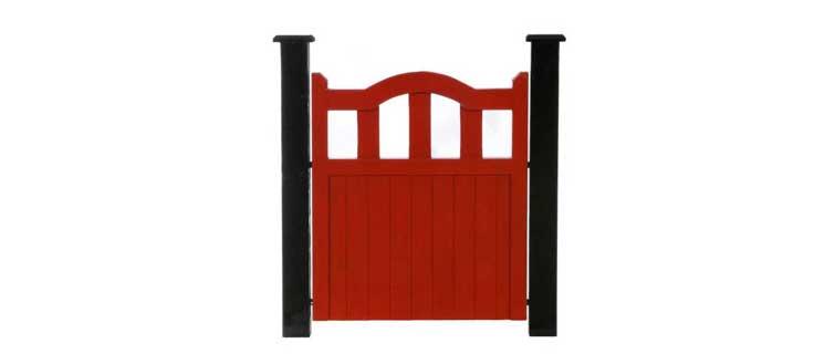 Meath Pedestrian Side Gate - Red