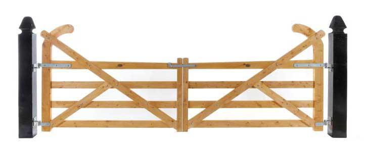 Ranch Double Gates