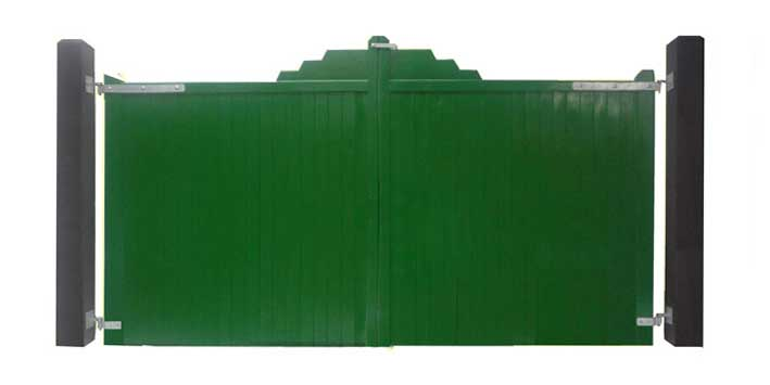 TG And V Solid Gates - Green
