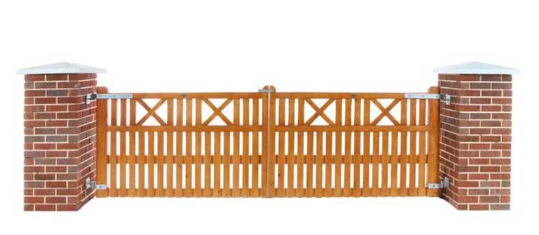 X Entrance Gates